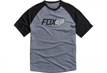 fox t shirt warmup gris noir s
