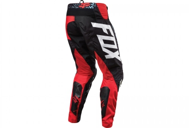 FOX Pantalon DEMO DH DIVIZION Rouge Noir