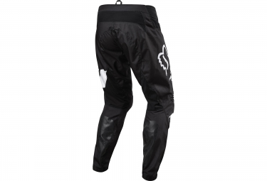 fox pantalon demo dh noir blanc 36