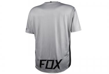 fox maillot manches courtes altitude ss noir gris s