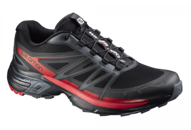 salomon wings pro 2 noir rouge 46 2 3