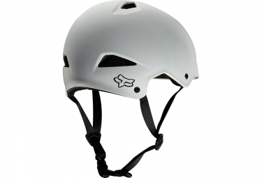 casque bol fox flight hardshell blanc s 52 54 cm
