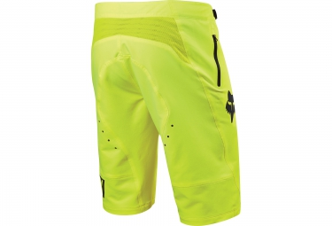 fox short demo freeride jaune 34