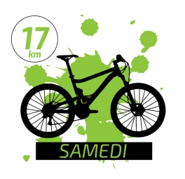 Jean Racine 2016 SAMEDI VTT 17km