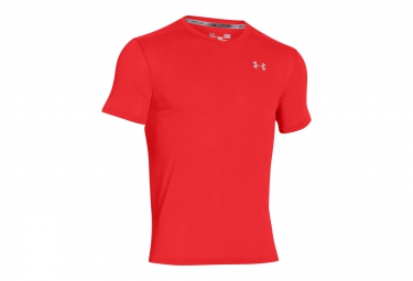 under armour maillot manches courtes streaker run rouge xl