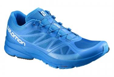 salomon sonic pro bleu 46 2 3