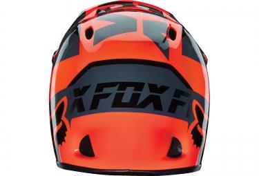 Casque FOX RAMPAGE MAKO Orange Noir