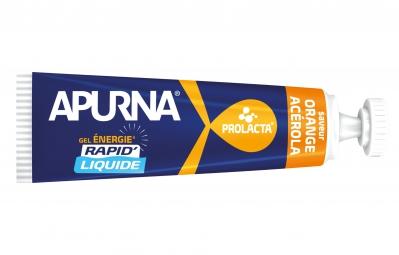 APURNA Gel Energétique LIQUIDE Orange-Acérola 35g