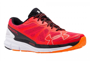 under armour charged bandit rouge noir 45 1 2