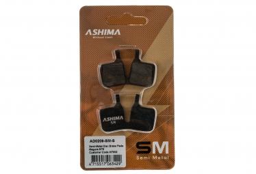 ASHIMA Paire de Plaquettes MAGURA MT5 - Semi Métalliques