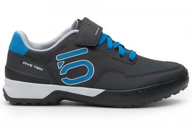 Chaussures vtt five ten kestrel lace femme gris bleu 37