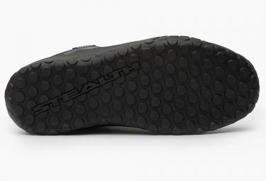 chaussures vtt five ten impact high noir rouge 44 1 2