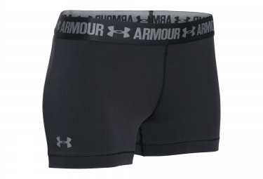 under armour short heatgear armour 3 noir femme l