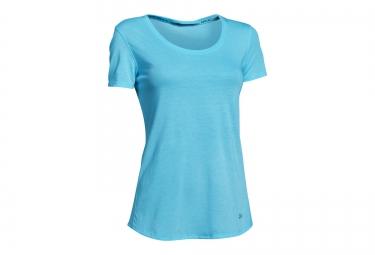 Under armour maillot manches courtes streaker bleu femme s