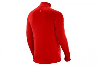 SALOMON T-Shirt TRAIL RUNNER WARM Rouge