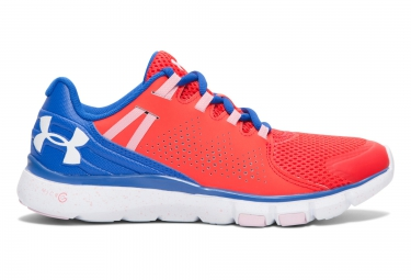 UNDER ARMOUR MICRO G LIMITLESS Pair of Shoes Red Blue Pink Women