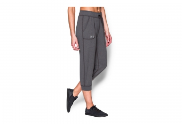 UNDER ARMOUR Collant 3/4 TECH Gris Femme