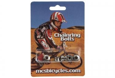 MCS Vis cheminée 10mm Chrome