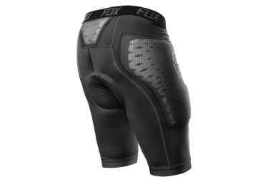 fox sous short de protection titan race gris m