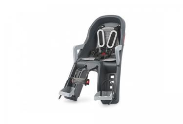 Asiento de bebé delantero POLISPORT GUPPY MINI gris oscuro plateado