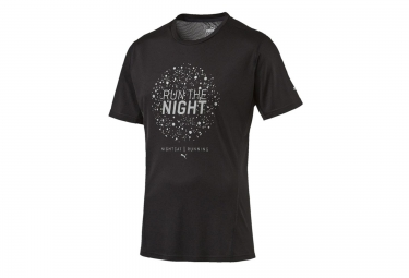 Puma t shirt night cat noir m