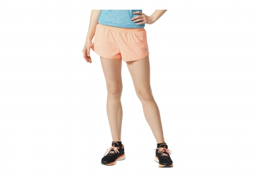 adidas Short Réversible RUN REVERSIBLE Orange Femme
