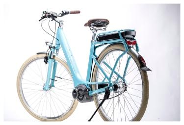 Vélo Electrique Femme CUBE ELLY CRUISE HYBRID 29'' 2015 Nexus 7 Vitesses Bleu