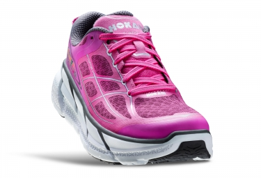 Chaussures de Running Femme Hoka CLIFTON 2 Violet / Blanc