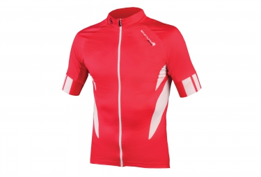 maillot manches courtes endura fs260 pro rouge xxl