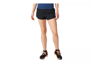 adidas short reversible run reversible noir gris femme 38