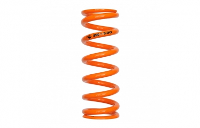 fox racing shox ressort sls super light steel course 3 50 orange 400 lbs 3 50