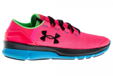 UNDER ARMOUR SPEEDFORM APOLLO 2 Pair of Shoes Pink Black Blue Women