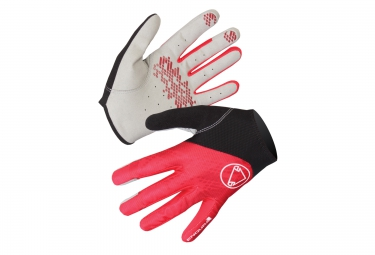 ENDURA Gloves HUMMVEE LITE Black Red White