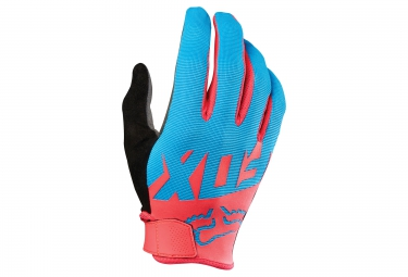 FOX Paire de Gants Longs RANGER Bleu Rose