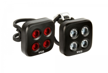 Knog eclairage avant arriere blinder mob 5 the face noir