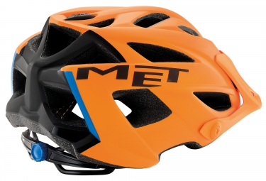 casque met terra orange noir unique 54 61 cm