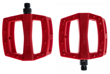 merritt pedales p1 rouge