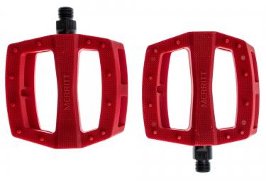 MERRITT P1 Pedals Red