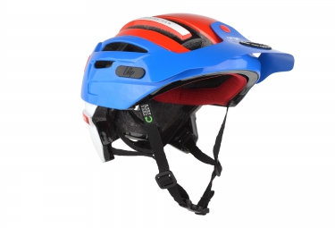 Casque urge endur o matic 2 mips bleu blanc rouge l xl 57 59 cm
