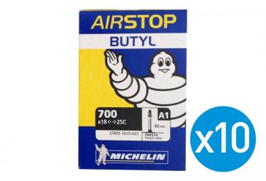 MICHELIN 10 BUTYL A1 Inner Tubes 700 x 18/25 C presta 40m