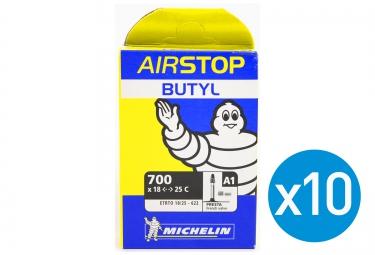 MICHELIN 10 BUTYL A1 Inner Tubes 700 x 18/25C Presta 52 mm