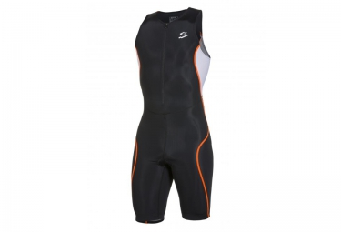spiuk 2016 combinaison universelle triathlon noir orange s