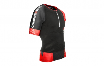 compressport maillot tr3 aero top noir xl