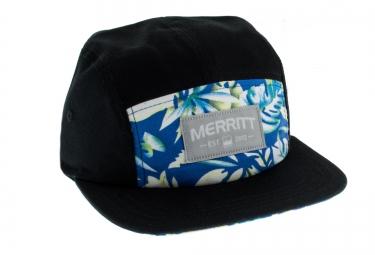 MERRITT 5 Panel Hat Black Tropical
