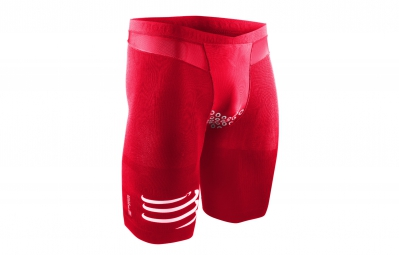 compressport short tr3 brutal short v2 rouge l