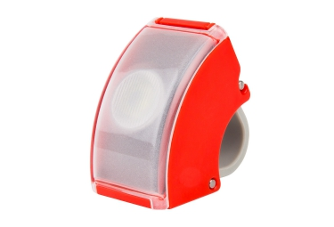 BOOKMAN Front Light CURVE Red