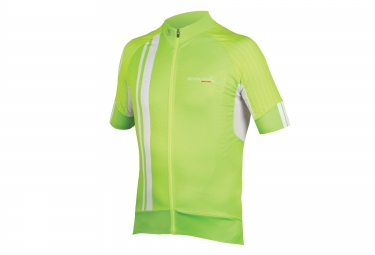 maillot manches courtes endura fs260 pro sl ii vert xxl