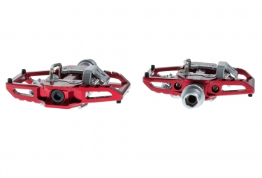 Pedales HT Clipless T1 Rojo