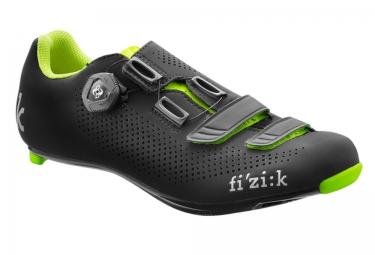 fizik chaussures route r4b uomo noir jaune 46