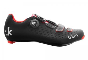 fizik chaussures route r4b uomo noir rouge 41 1 2